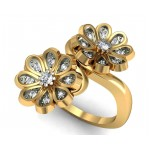 Two Flower Ring