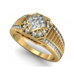Gold Stair Ring