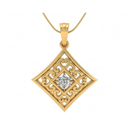 Antique Filigree Pendant