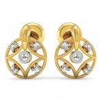 Mandala Diamond Earring