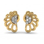 Exquisite diamond studs