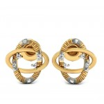 Interlocking Studs Earring