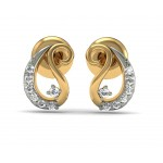 Paisley Diamond Studs