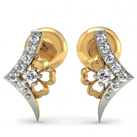 Angelic Diamond Studs