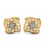 Filigree Square Studs