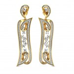 Luxurious Diamond Danglers