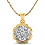 Flora Poetic Diamond Pendant