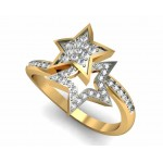 Two Star Ring