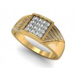 Dazzling Square Ring