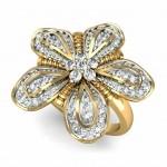 Regal Flower Ring
