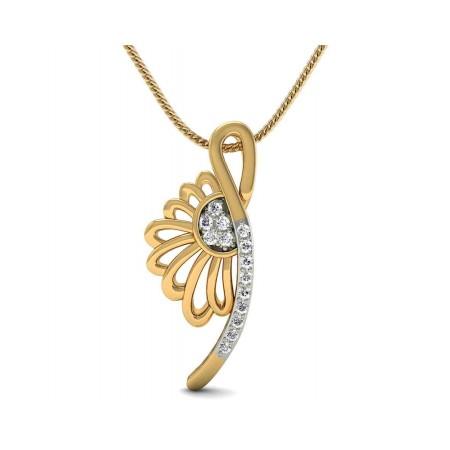Chloe Floral Diamond Pendant