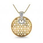 Twinkling Diamond Star Pendant