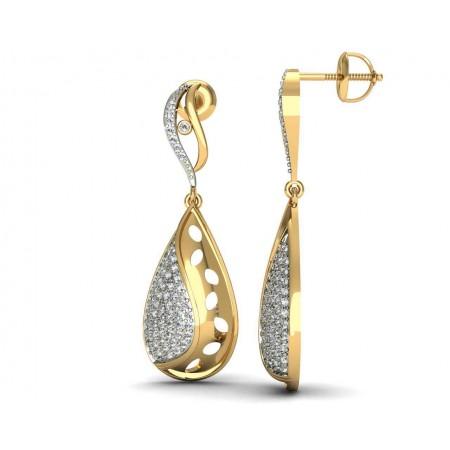 Celmira Diamond Drop Earring