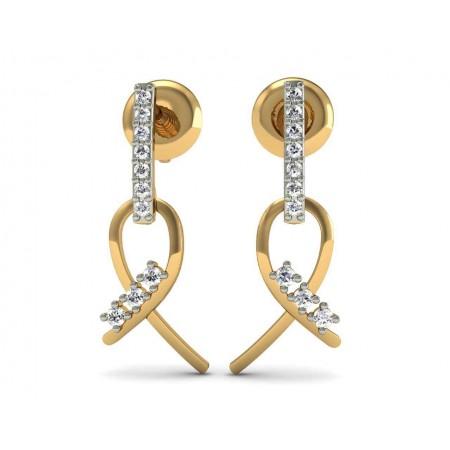 Alpha Diamond Earrings