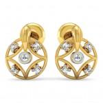 Mandala Diamond Earring