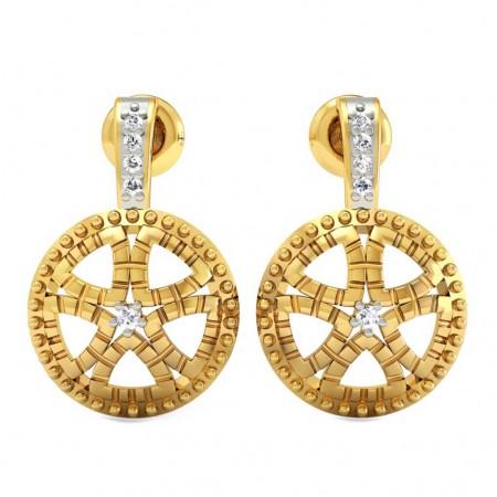 Chakra Diamond Earrings