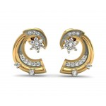 Floral Molly Diamond Studs