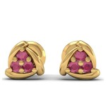 Triangular Pierced Studs Earring
