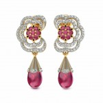 Devika Floral Drop Earring