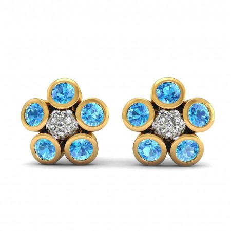 Anika Blossom Studs Earring