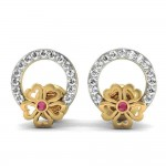 Pretty Floral Studs Earring