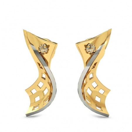 Artistic Curved Earrings