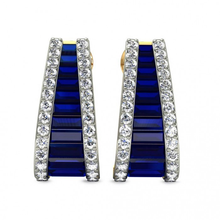 Wedding Gift For 5000 Rs : Gemstone: Blue SapphireGold Color: Yellow