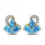 Blueshine Stud Earring