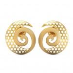 Spiral Gold Stud