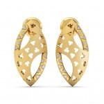 Lattice Pierced Earring