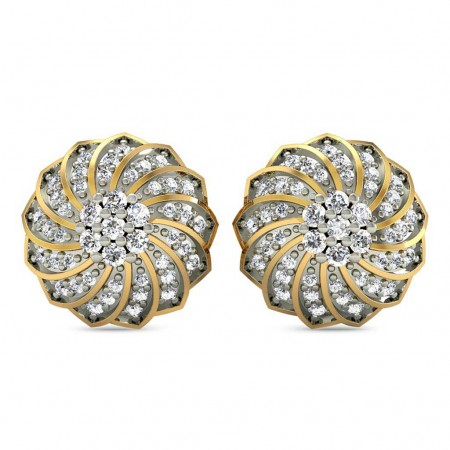 Akshat Diamond Studs