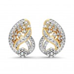 Glamour Curved Earring