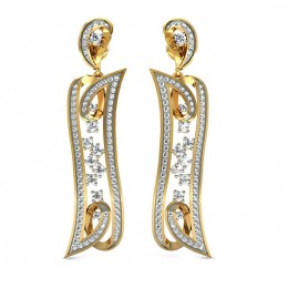 Luxurious Diamond Danglers