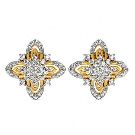 Alyssum Diamond Studs