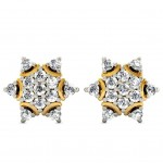 Shiny Flower Studs Earring