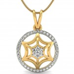 Web Spider Diamond Pendant