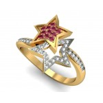 Star Wave ring