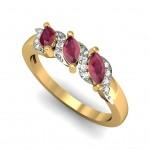 Stylish Studded ring