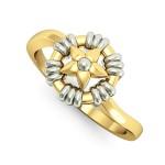 Columbine Blossom Ring