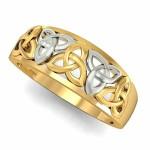 Celtic Knot Hazy Engagement Ring