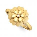 Finest Matte Flora Ring