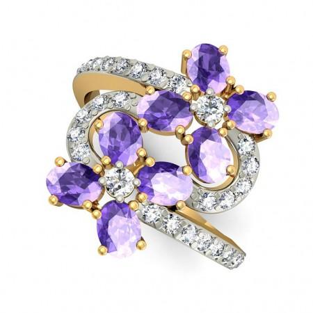 Belle Flower Ring