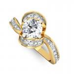 Elegant Spiral Ring